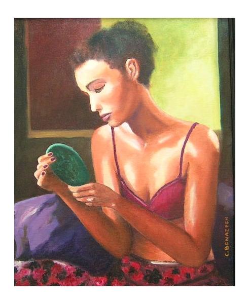 Photographie de peinture corporelle nue