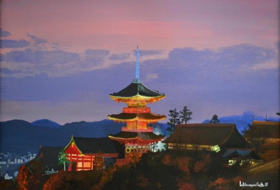 Peinture zen for Paysage zen
