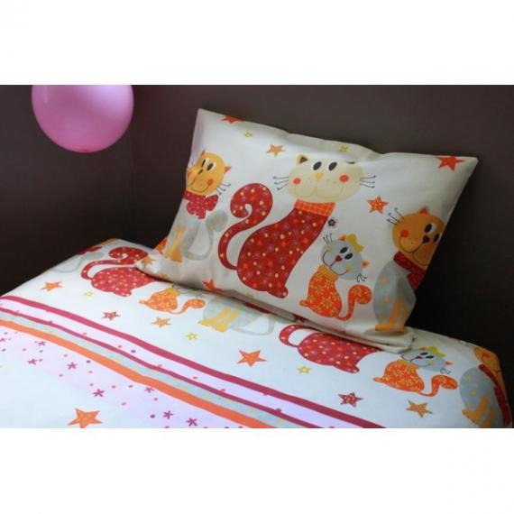 art textile mode linge de lit enfant parure de lit fille. Black Bedroom Furniture Sets. Home Design Ideas