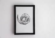 dessin animaux otter geometric loutre : Geometric otter