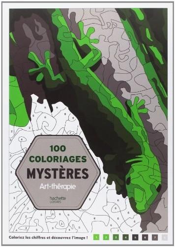 Jérémy Mariez - 100 Coloriages mystères: Art-thérapie