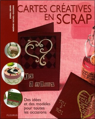 Emma Rehri - Cartes créatives en scrap