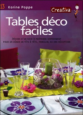 Karine Poppe - Tables déco faciles