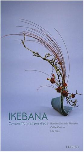Lila Dias - Ikebana : Compositions en pas à pas