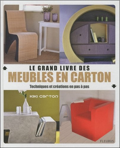 grand livre des meubles en carton kiki carton livres. Black Bedroom Furniture Sets. Home Design Ideas