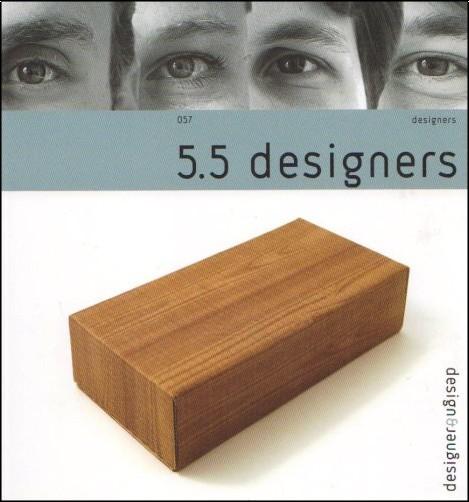 5 5 designers   edition bilingue fran u00e7ais-anglais - 5 5 designers