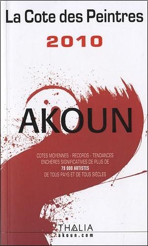 Jacky-Armand Akoun - La cote des peintres
