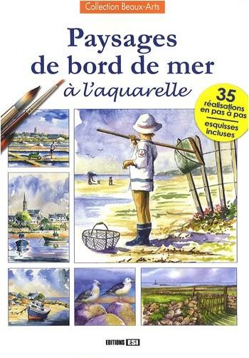 L Guillaume - Paysages de bord de mer à l'aquarelle