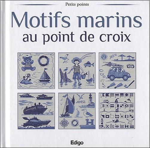 Brigitte Roquemont - Motifs marins au point de croix