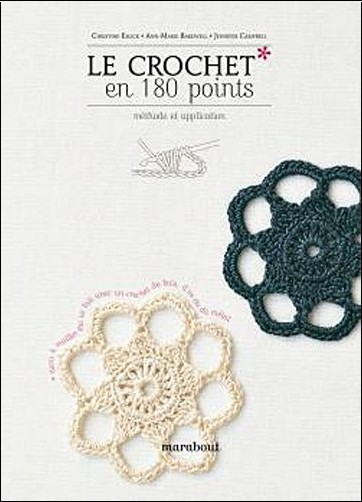 Le crochet : le crochet tunisien - les points de base en aller-retour