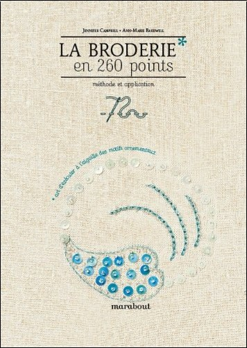 Collectif - La broderie en 260 points