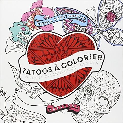 Nikola Kapetanovic - Tatoos à colorier
