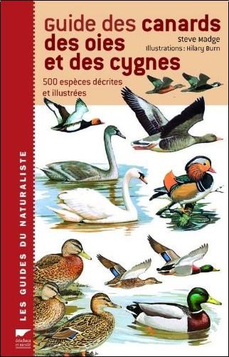 Steve Madge - Guide des canards, des oies et des cygnes : 500 espèces décrites et illustrées