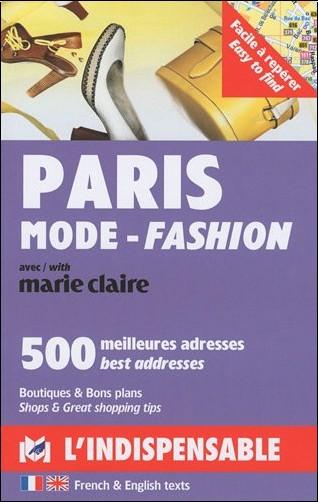 Dominique Brabec - Paris mode : L'indispensable, Edition bilingue français-anglais