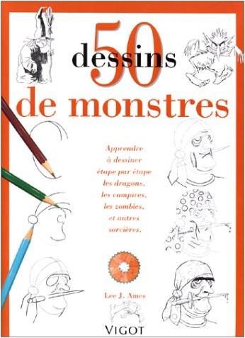 50 dessins de monstres lee j ames livres - Dessins monstres ...