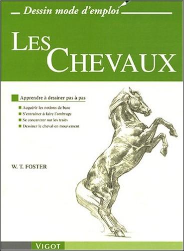 Les chevaux apprendre dessiner pas pas walter foster livres - Apprendre a dessiner des chevaux ...
