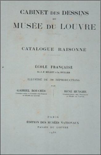 J.F. Millet / Ch. Mu - Cabinet des Dessins du Musee du Louvre/ Catalogue Raisonne Ecole Française