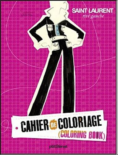 Collectif - Cahier de coloriage prêt à porter : Version luxe