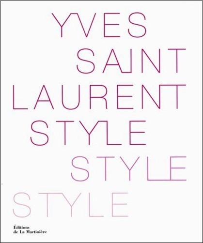 Florence Müller - Yves Saint Laurent Style