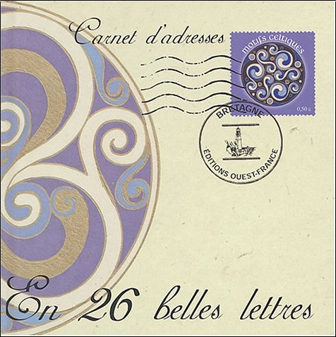 David Balade - Carnet d'adresses en 26 belles lettres : Motifs celtiques