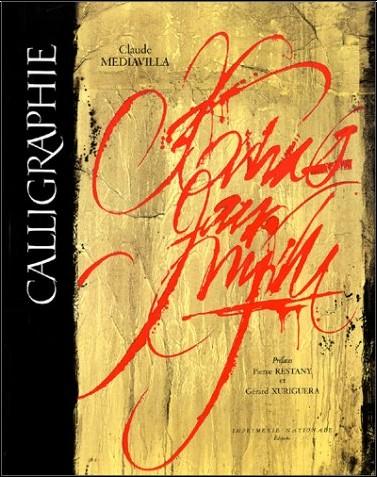 Claude Mediavilla - Calligraphie