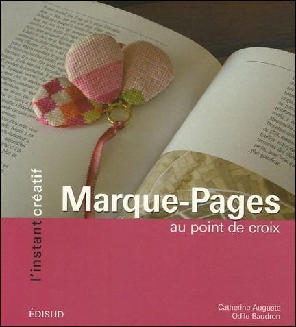 Catherine Auguste - Marque-Pages : Au point de croix