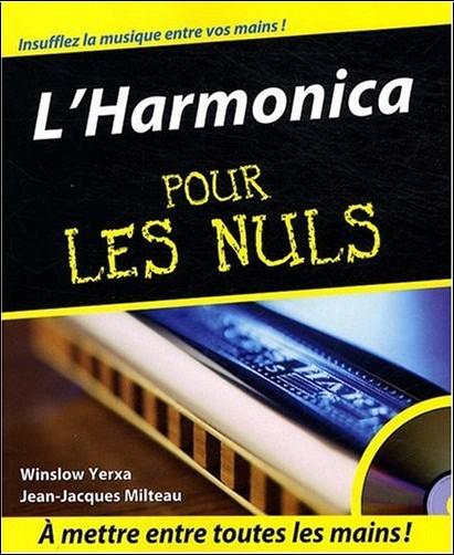 Winslow Yerxa - L'Harmonica pour les nuls (1CD)