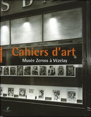 Christian Derouet - Cahiers d'art : Musée Zervos à Vezelay