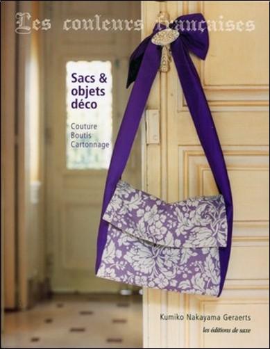 Kumiko Nakayama Geraerts - Les couleurs françaises - Sacs et objets déco. Couture, boutis et cartonnage.