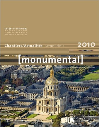 Philippe Bélaval - Monumental, 2010, 2nd semestre :