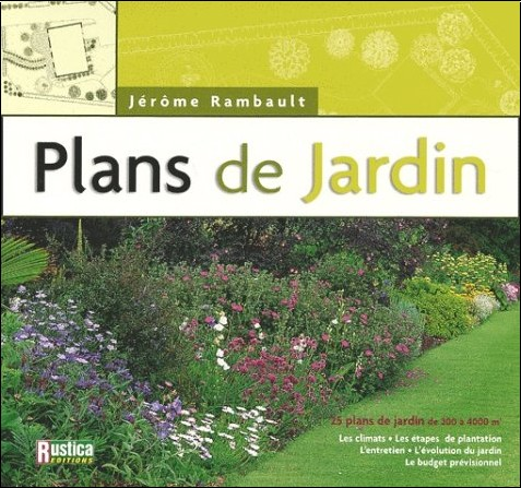plans de jardin j r me rambault livres. Black Bedroom Furniture Sets. Home Design Ideas