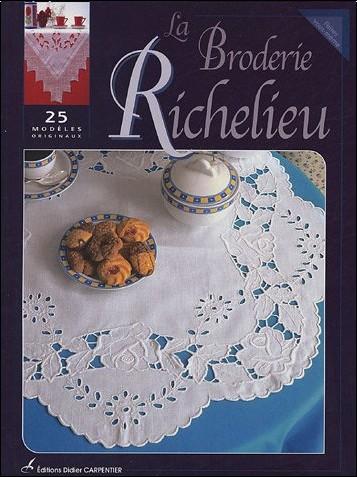 Editions Carpentier - La Broderie Richelieu