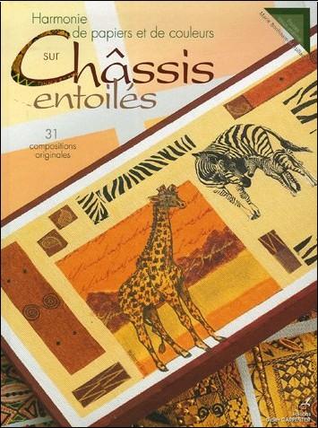 Marie Bonhoure-Marsillach - Harmonie de papiers et de couleurs sur Châssis entoilés