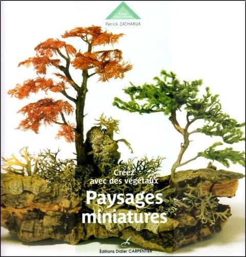 Patrick Zacharuk - Paysages miniatures : Créez avec des végétaux