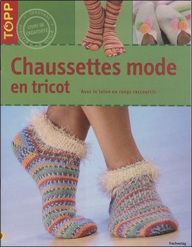 Milla Schoen - Chaussettes mode en tricot : Avec le talon en rangs raccourcis