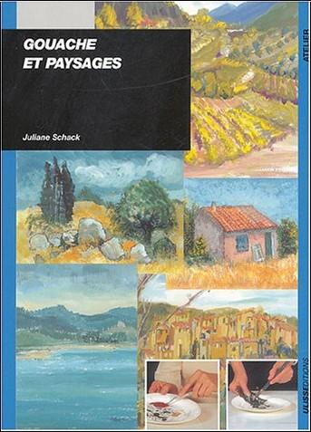 J. Schack - Gouache et paysage