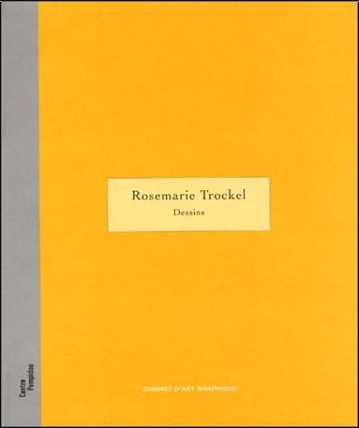 Rosemarie Trockel - Rosemarie Trockel. Dessins