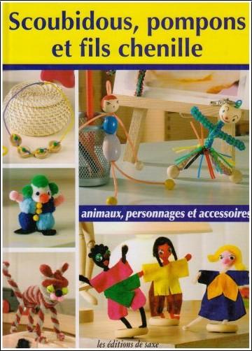 Céline Poncet - Scoubidous, pompons et fils chenille