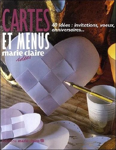 Caroline Lancrenon - Carte et menus : 40 idées : invitations, voeux, anniversaires...