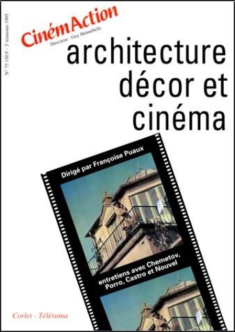 Françoise Puaux - Architecture, décor et cinéma