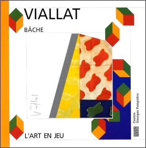 Viallat - Claude Viallat, bâche