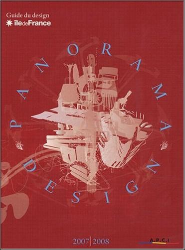 Apci - Panorama design : Guide du design en Ile-de-France, édition bilingue français-anglais
