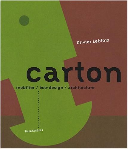 Olivier Leblois - Carton : Mobilier, éco-design, architecture