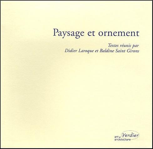 Didier Laroque - Paysage et ornement