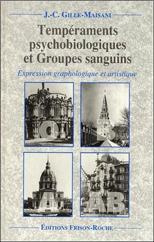 Jean-Charles Gille-Maisani - Tempéraments psychobiologiques et groupes sanguins