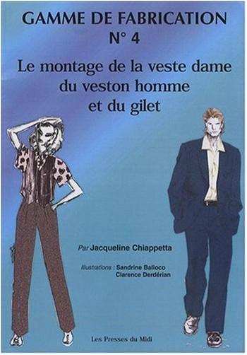 Jacqueline Chiappetta - GAMME DE FABRICATION N�>                 <p class=