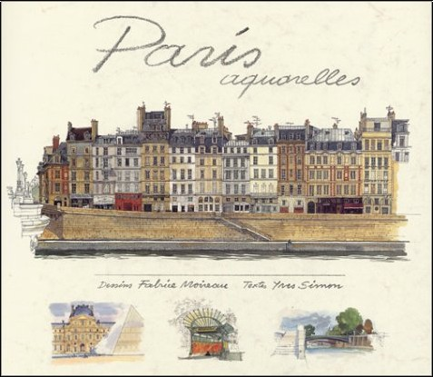 Yves Simon - Paris, Aquarelles