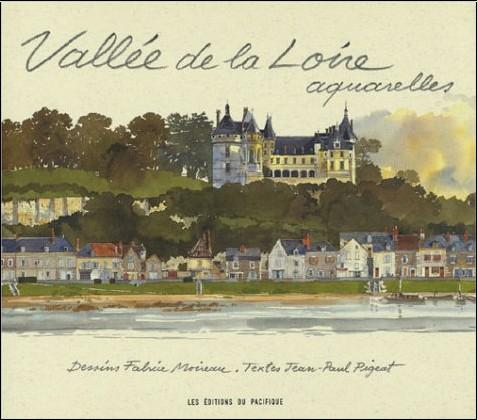 Jean-Paul Pigeat - Vallée de la Loire, aquarelles