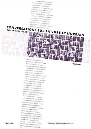 Thierry Paquot - Conversations sur la ville et l'urbain