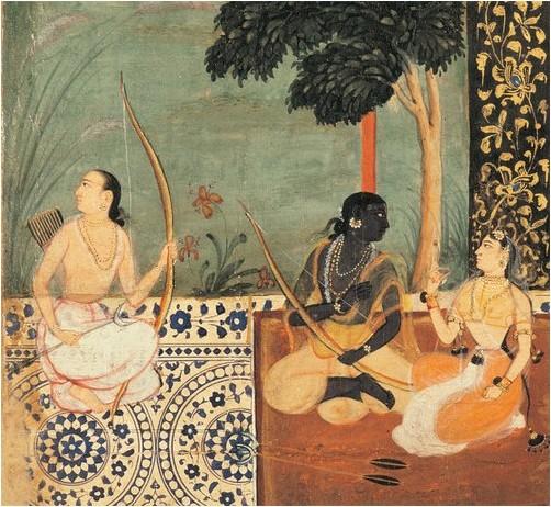 Vâlmîki - Ramayana : Illustré par les miniatures indiennes du XVIe au XIXe siècle, coffret 7 volumes